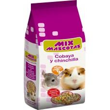 Alimento Cobayas y Chinchillas 1kg