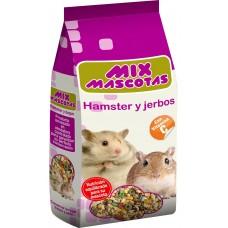 Alimento Hamsters y Jerbos 1 kg