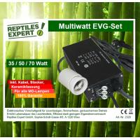 Balastro Electrónico Multiwatt EVG 35/50/70 Watt SET con cable